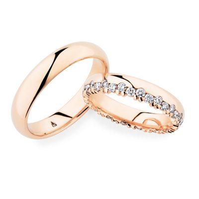 Bauer Krönchen Ring Rosé