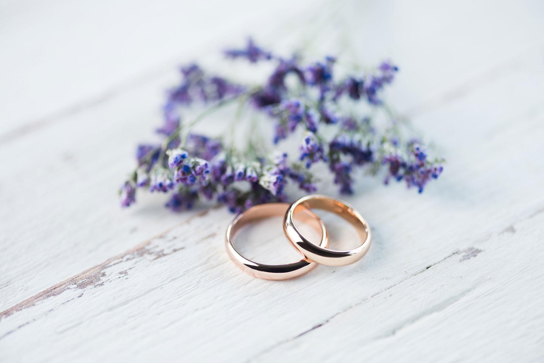 Trauringe für Ihre Hochzeit