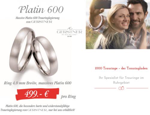 Gerstner Platin 600 Aktion