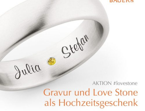 Ringkauf als Love-Story Aktion